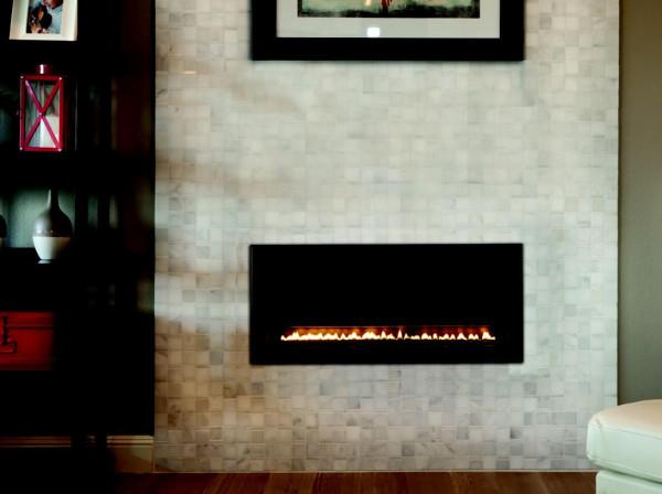 Chimeneas rusticas esquina stone fireplace in log cabin for Chimenea lena empotrada