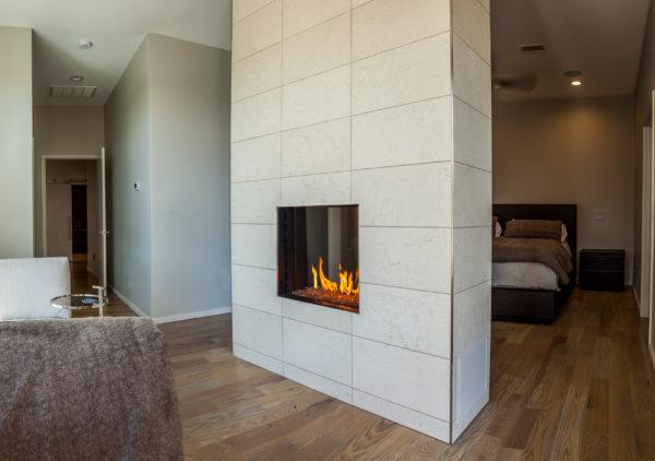 La casa de las chimeneas – chimeneas de gas de combustión externa